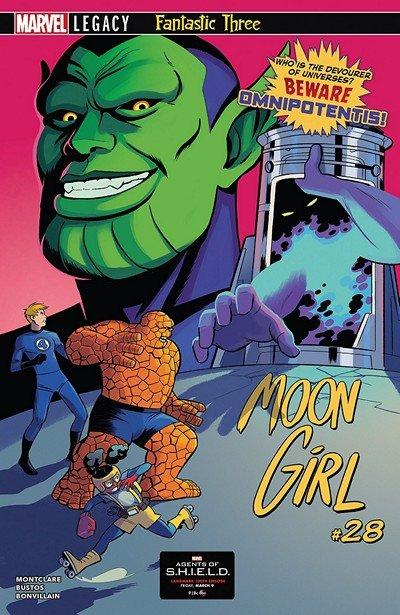 Moon Girl And Devil Dinosaur #28 (2018)