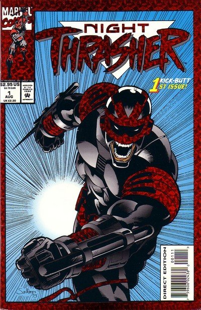 Night Thrasher #1 – 21 (1993-1995)