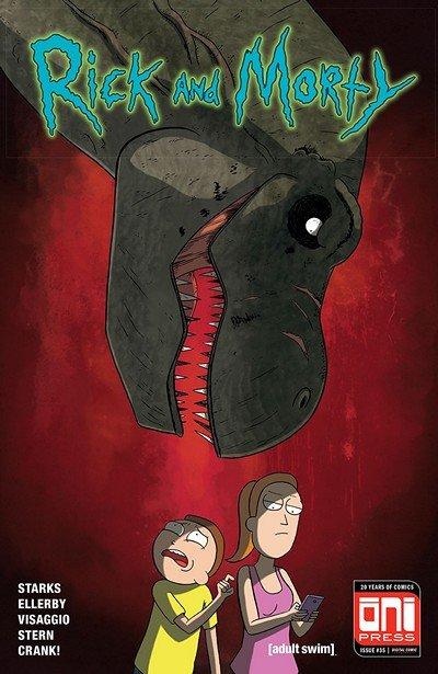 Rick And Morty #35 (2018)
