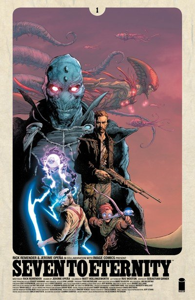 Seven to Eternity #1 – 9 (2016-2017)