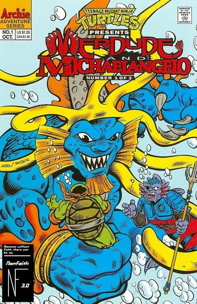 Teenage Mutant Ninja Turtles Presents – Merdude #1 – 3 (1993)