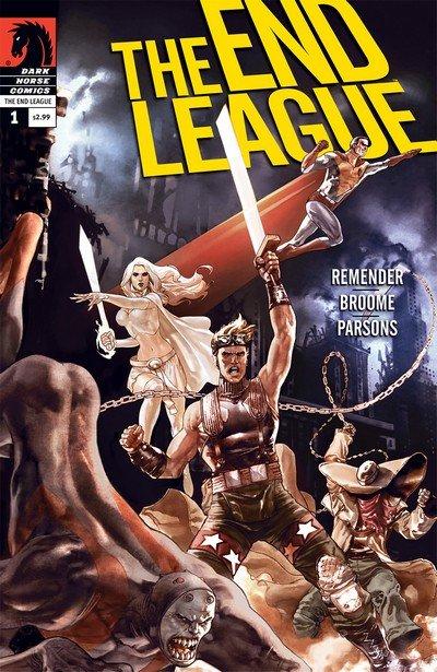 The End League #1 – 9 + TPB Vol. 1 – 2 (2007-2010)