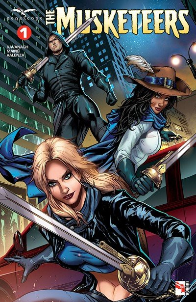 The Musketeers #1 (2018)