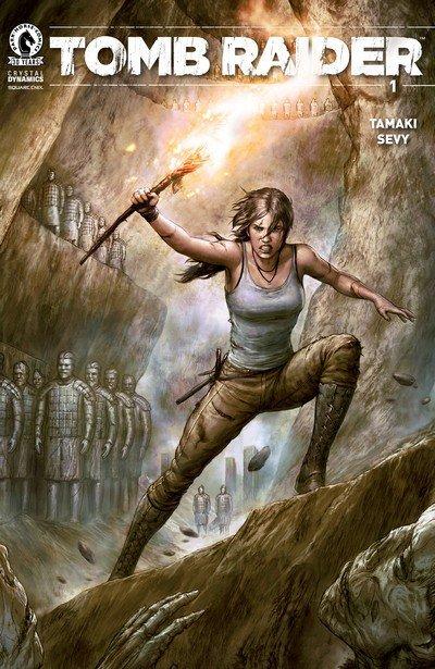 Tomb Raider #1 – 12 + TPB Vol. 1 – 2 (2016-2017)