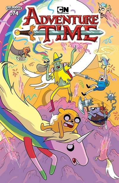 Adventure Time #74 (2018)