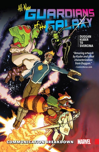 All-New Guardians of the Galaxy Vol. 1 – Communication Breakdown (TPB) (2017)