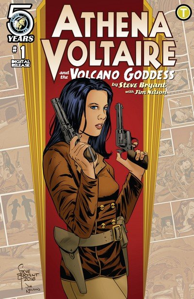 Athena Voltaire and the Volcano Goddess #1 – 3 (2016-2017)