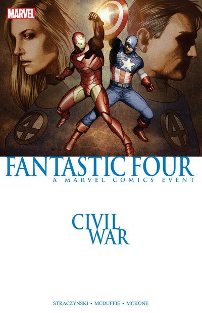 Civil War – Fantastic Four (TPB) (2007)