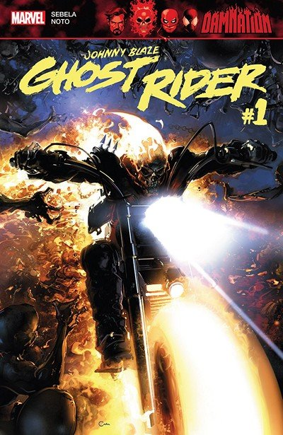 Damnation – Johnny Blaze – Ghost Rider #1 (2018)