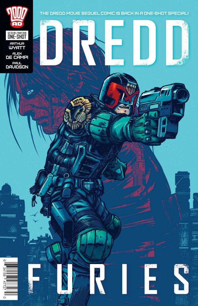 Dredd – Furies (2018) (One Shot)
