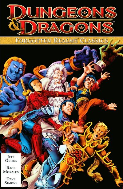 Dungeons & Dragons – Forgotten Realms Classics Vol. 1 – 4 (TPB) (2011-2013)