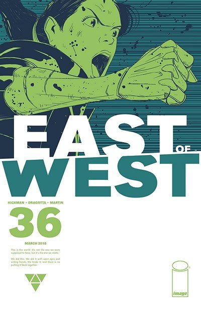 East Of West #36 (2018)