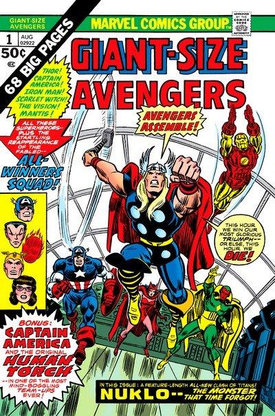 Giant-Size Avengers #1 – 5 (1974-1975)
