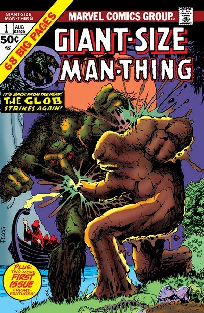 Giant-Size Man-Thing #1 – 5 (1974-1975)