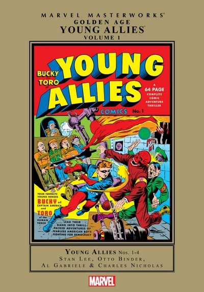 Golden Age Young Allies Masterworks Vol. 1 (2009)