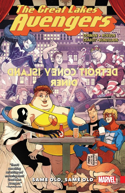 Great Lakes Avengers – Same Old, Same Old (TPB) (2017)