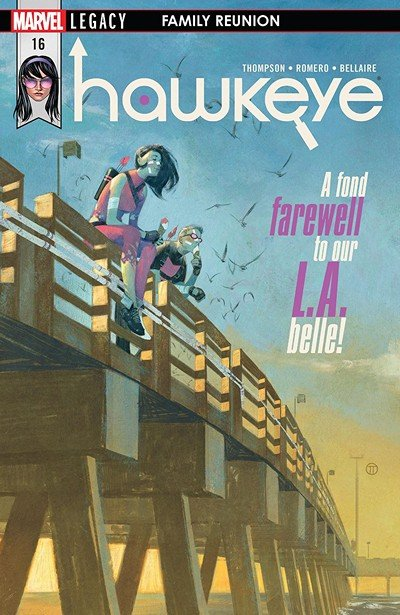 Hawkeye #16 (2018)