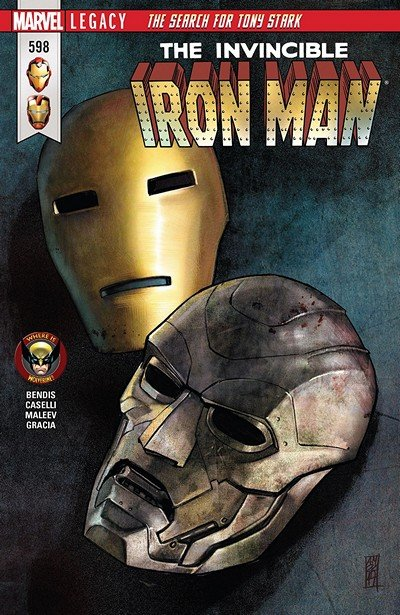 Invincible Iron Man #598 (2018)