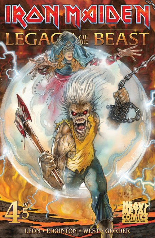 Iron Maiden Legacy of the Beast #4 (2018)