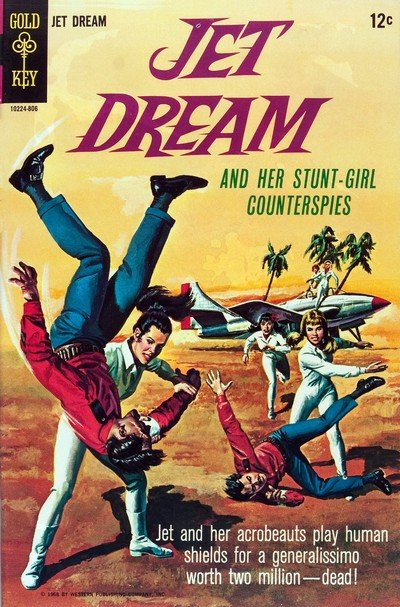 Jet Dream #1 (1968) (Gold Key)