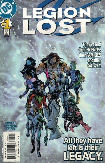 Legion Lost Vol. 1 #1 – 12 (2000-2001)