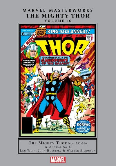 Marvel Masterworks – The Mighty Thor Vol. 16 (2017)