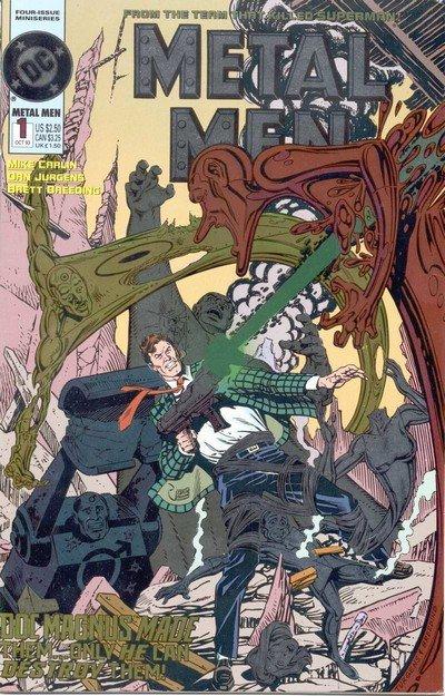Metal Men Vol. 2 #1 – 4 (1993)