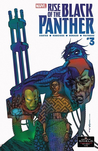 Rise Of The Black Panther #3 (2018)