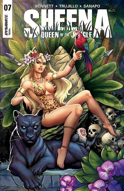 Sheena – Queen Of The Jungle #7 (2018)