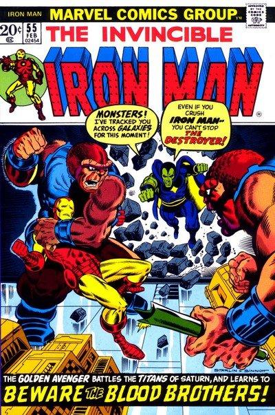 Thanos (Chronological Appearances) (1972-2014)