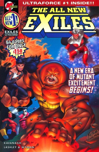 The All New Exiles #1 – 11 (1995)