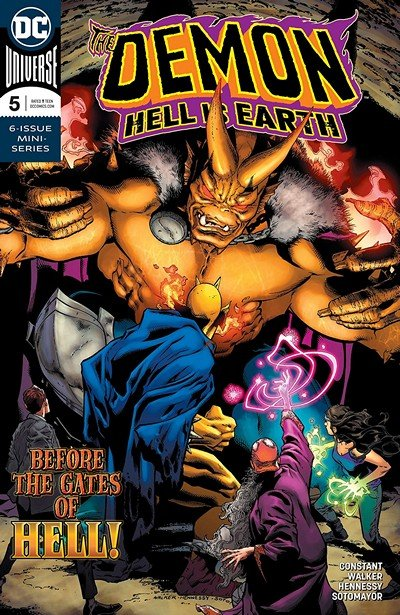 The Demon – Hell Is Earth #5 (2018)