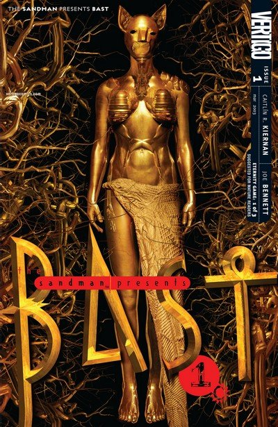 The Sandman Presents – Bast #1 – 3 (2003)