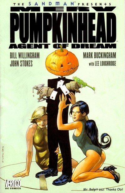 The Sandman Presents – Merv Pumpkinhead, Agent of D.R.E.A.M. #1 (2000)