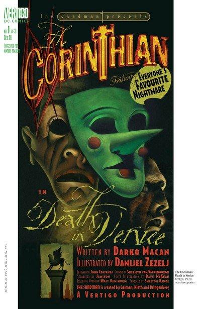 The Sandman Presents – The Corinthian #1 – 3 (2001-2002)