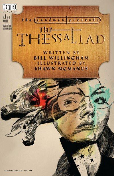 The Sandman Presents – The Thessaliad #1 – 4 (2002)