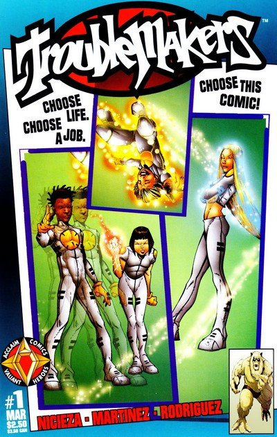 The Troublemakers #1 – 19 (1997-1998)