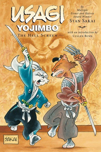 Usagi Yojimbo Book 31 – The Hell Screen (2017)