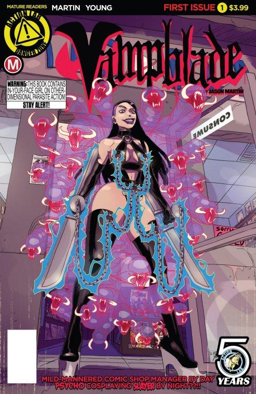 Vampblade #1 – 12 (2016-2017)