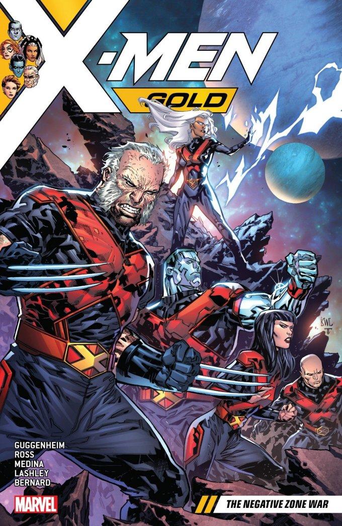 X-Men Gold Vol. 4 – The Negative Zone War (TPB) (2018)