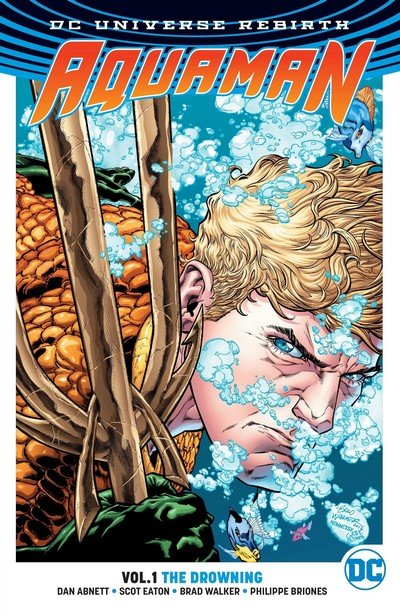 Aquaman Vol. 8 (Rebirth TPB) – Vol. 1 – 5 (2016-2018)
