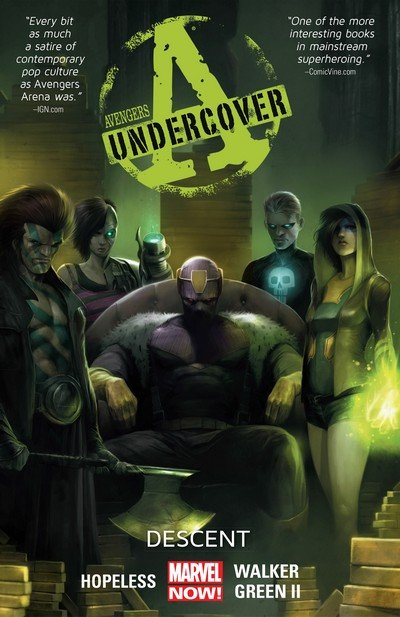 Avengers Undercover Vol. 1 – Descent (TPB) (2014)