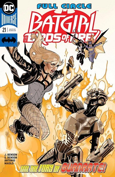 Batgirl And The Birds Of Prey #21 (2018)