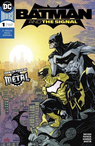Batman & the Signal #1 – 3 (2018)