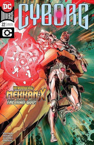Cyborg #22 (2018)