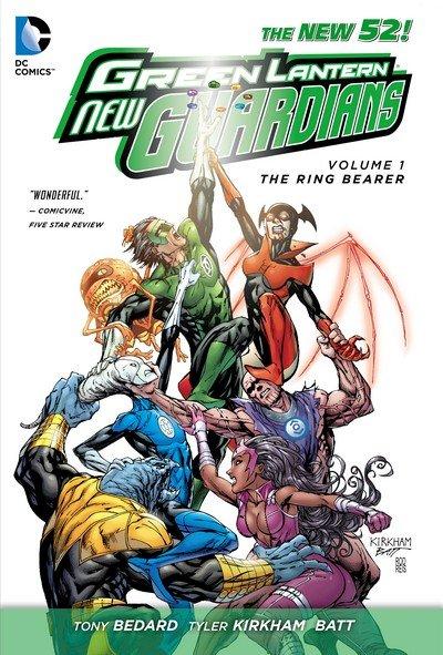 Green Lantern – New Guardians Vol. 1 – The Ring Bearer (TPB) (2012)
