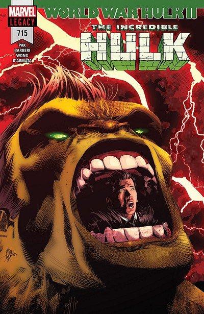 Incredible Hulk #715 (2018)