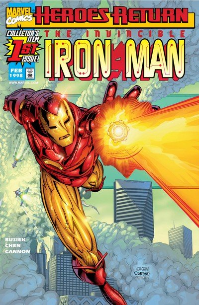 Iron Man Vol. 3 #1 – 89 + Annuals (1998-2004)