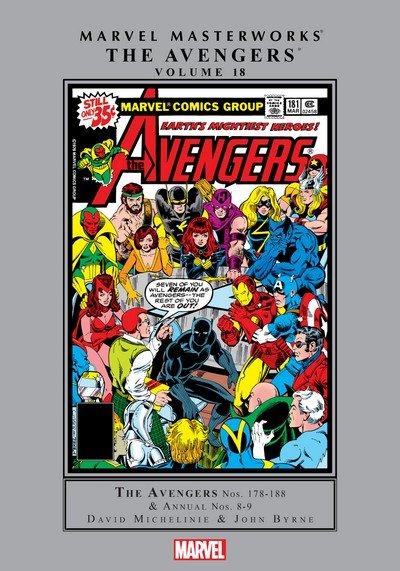 Marvel Masterworks – Avengers Vol. 18 (2018)
