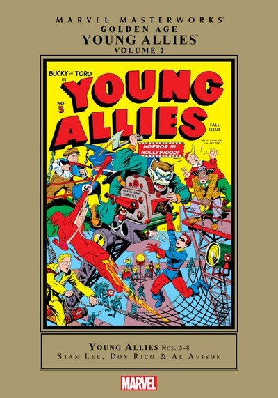 Marvel Masterworks – Golden Age Young Allies Vol. 2 (2012)